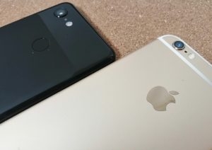 iPhoneとAndroid