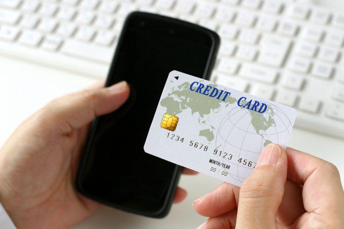スマホとクレジットカード
