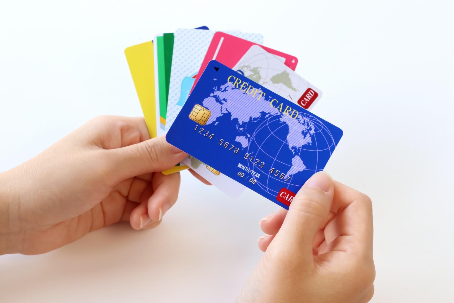 クレジットカードを選択するイメージ