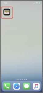 ルミネカードのApplePayへの登録方法1