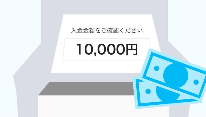 Paypay現金入金画面