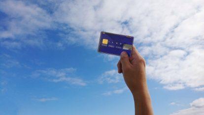 クレジットカード 空