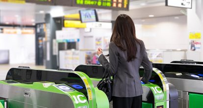 交通系ICカードの利用シーン