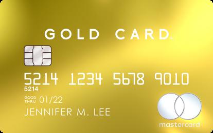 Mastercard Gold Card