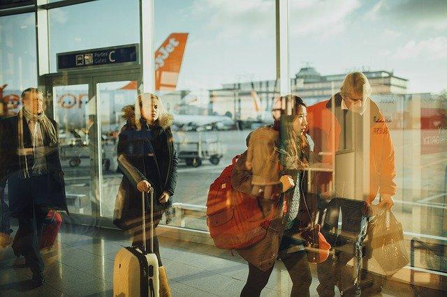フリー画像:空港