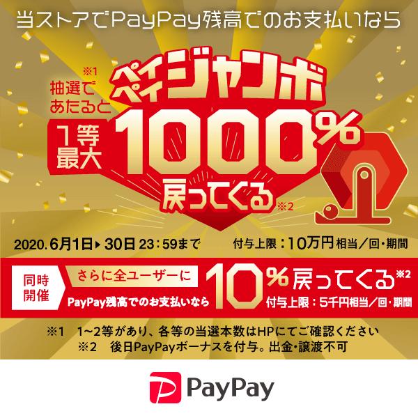 paypayキャンペーン6月