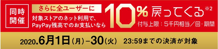 PayPay最大10万円戻ってくるキャンペーン