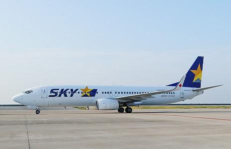 スカイマークの航空機