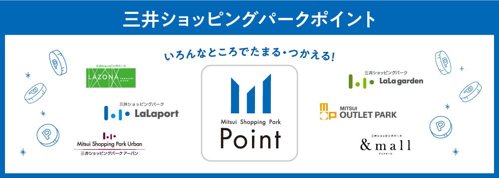 三井ショッピングパークポイント