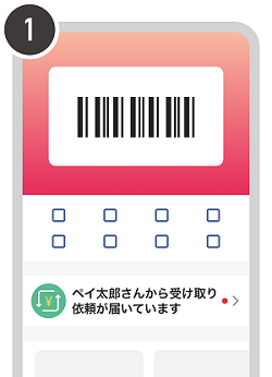 PayPay残高をアプリで受け取る方法