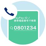 PayPay残高を携帯電話番号に送る