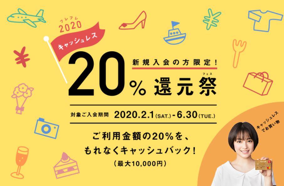 MUFG20%還元キャンペーン