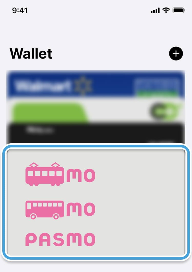 walletアプリでチャージ1