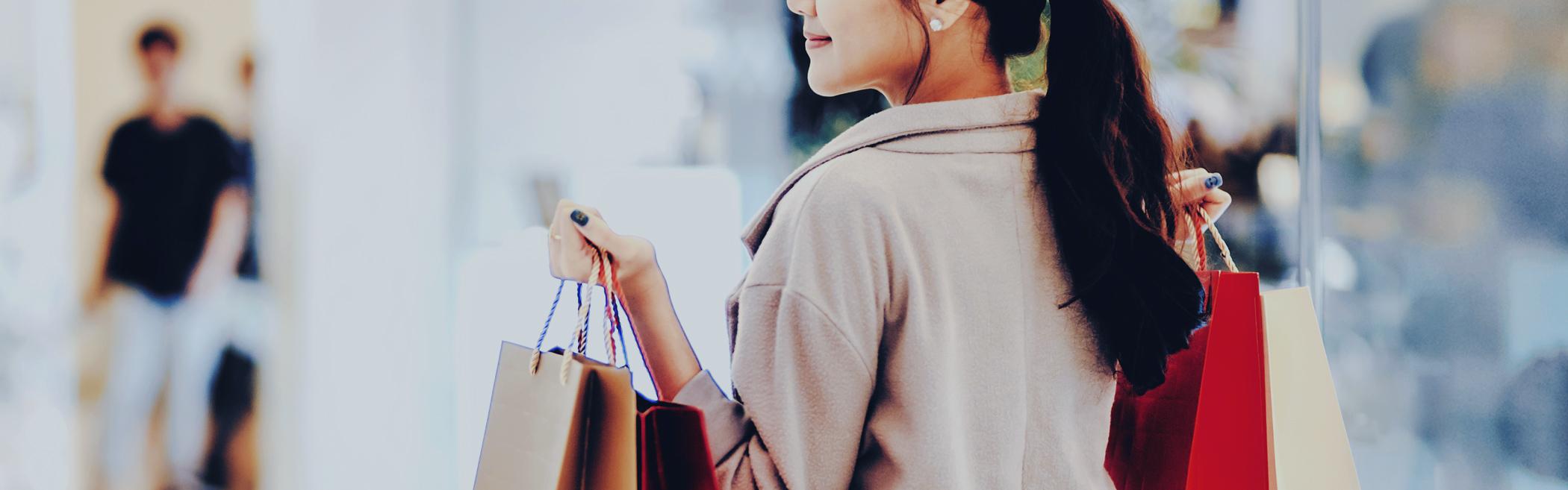 ショッピングでマイルが貯まる
