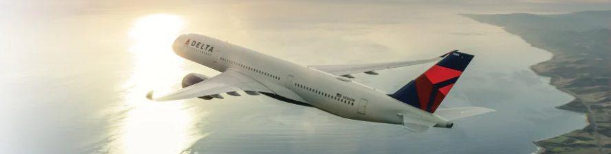 デルタ航空機