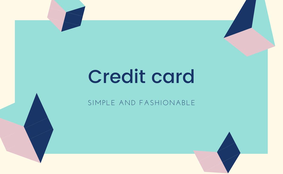 デザインで選ぶおすすめクレジットカード